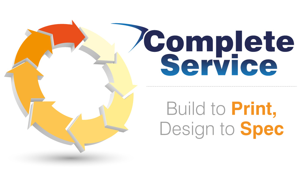 Complete Service - Build to Print, Design to Spec